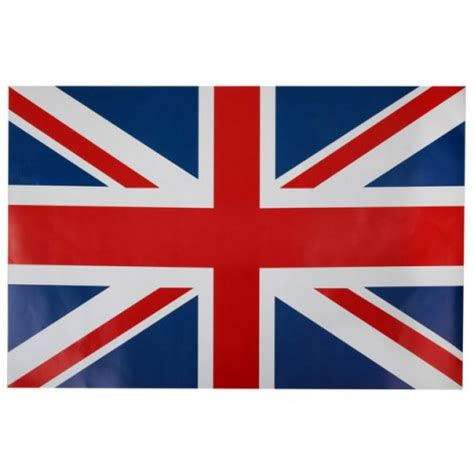 Set de table drapeau de l Angleterre
