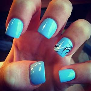 baby blue nails | Nail ideas part 2 | Pinterest | Baby ...