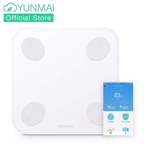 Bathroom Scale Android App by Yunmai Balance Digital Floor Scales Smart Monitor