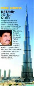 Burj Khalifa Top Floor Owner by Burj Khalifa Is Cheaper Than South Mumbai