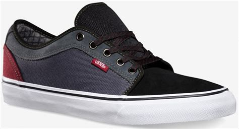 Vans Chukka Low Black/dark Grey/burgundy Skate Shoes