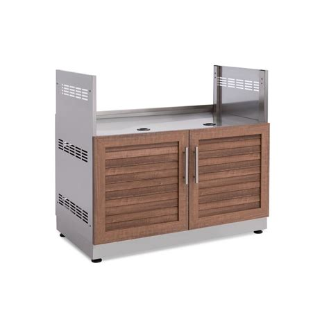 Home Depot Kitchen Storage Cabinets by Newage Products Cherry Insert Grill 40 In W X 36