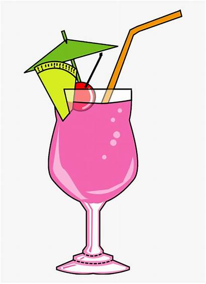 Cocktail Drink Clipart Background Cartoon Transparent Mary