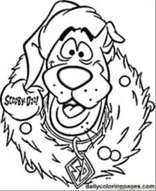 scooby doo coloring page coloring home