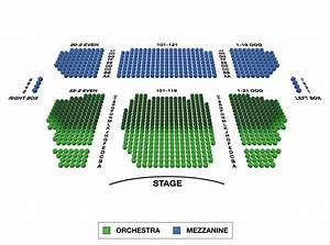 Stephen Sondheim Theatre Large Broadway Seating Charts