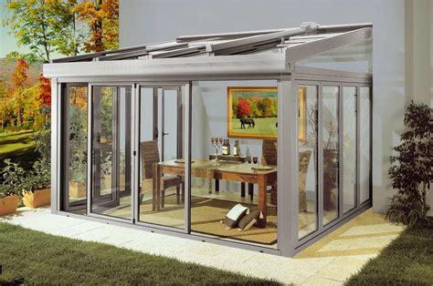 verande per terrazzi smontabili veranda in alluminio sunroom tender