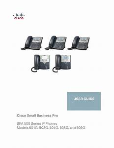 Cisco Spa508 Users Guide