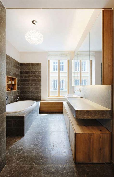 bain de si鑒e meuble salle de bain bois en 55 idées fascinantes articles design et interieur