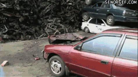 Crazy New Fad Reenacting Street Fighter's Car Crusher