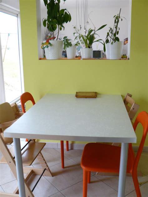 chaises de cuisine table photo 2 14 plan de travail pieds et chaises