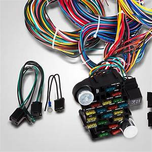 21 Circuit Wiring Harness For Chevy Ford Hotrods Universal X