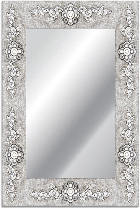 wandspiegel mit rahmen home affaire spiegel 187 rahmen blume 171 40 60 cm otto