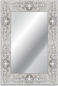 Spiegel Groß Mit Silberrahmen : home affaire spiegel rahmen blume 40 60 cm otto ~ Bigdaddyawards.com Haus und Dekorationen