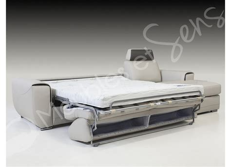 photos canap 233 lit convertible avec vrai matelas