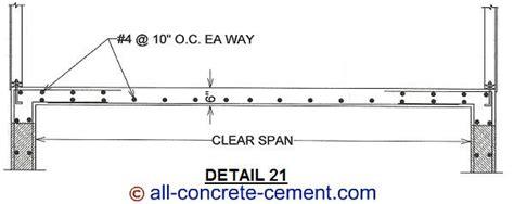 suspended concrete slab suspended slab cement slab