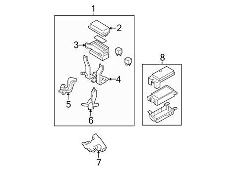 kia sorento fuse  relay center box