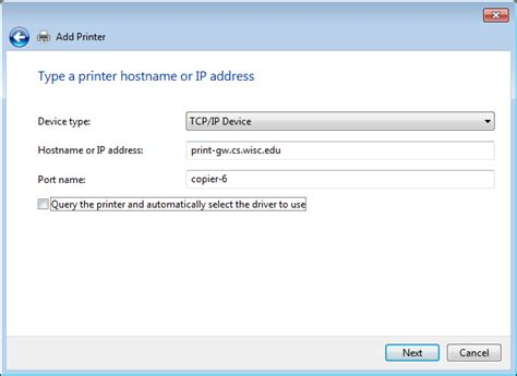 Printing From Windows Computers Not Managed By The Csl