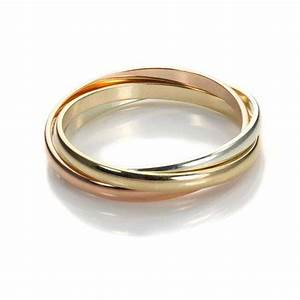9ct mixed gold 2mm russian wedding ring jewelleryboxcouk With mixed gold wedding rings