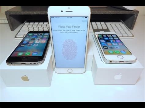 iphone 5s test touch id speed test iphone 6s vs iphone 6 vs iphone 5s which is faster