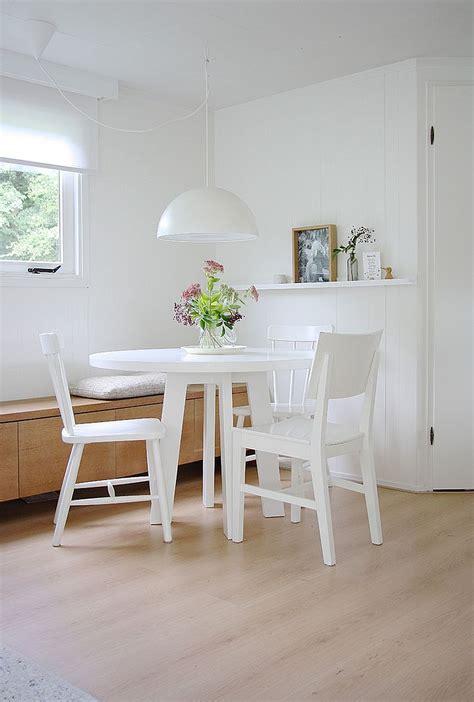 refined simplicity  banquette ideas