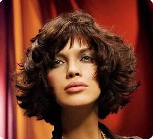 Coiffure Cheveux Courts Bouclés : coiffures cheveux courts boucl s ~ Melissatoandfro.com Idées de Décoration