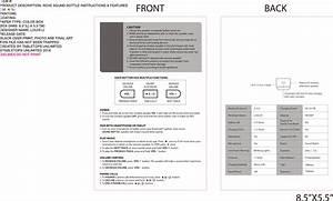 Soundbottle User Manual Sound Bottle Instrustions Cdr