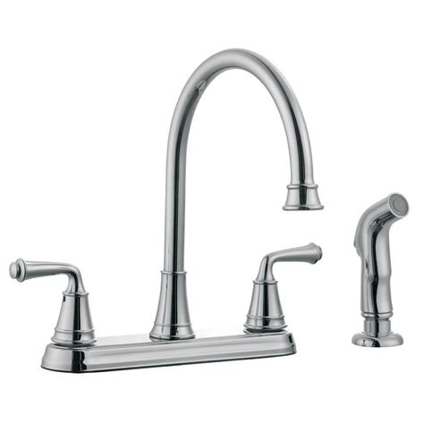 design house eden 2 handle standard kitchen faucet with
