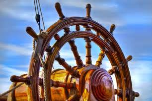 Ship Helm Wheel