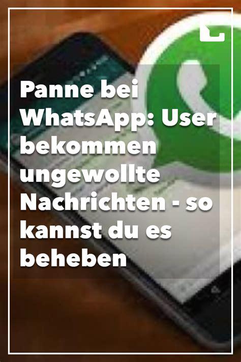 Learn how to troubleshoot connection issues on: WhatsApp macht Probleme: Plötzlich schreiben Ihnen ...