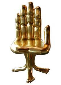 Hand Foot and Gold Chair