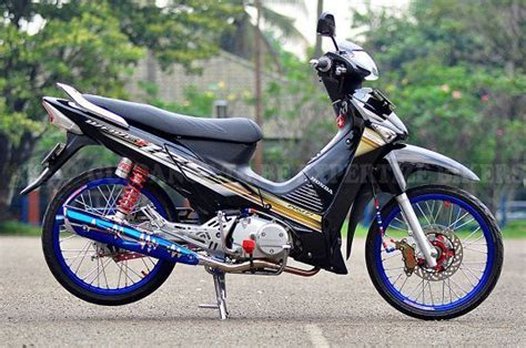 Gambar Modifikasi Supra X 125 Fi by Gambar Motor Supra X 125 Modif Touring Myvacationplan Org