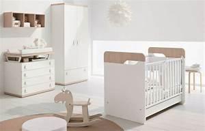 Lit Bébé Bois Et Blanc : 27 chambres b b blanches avec lit et tour de lit assortis ~ Teatrodelosmanantiales.com Idées de Décoration