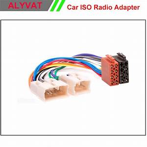 Car Iso Radio Wiring Harness For Toyota Lexus Daihatsu Adapter Connector Auto Stereo Adaptor