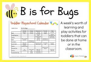 Free Printable Toddler Lesson Plans