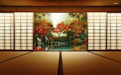 Dojo Wallpapers Japanese Samurai Japan 4k Digital
