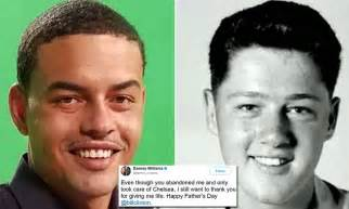 Bill Clinton Gets Father's Day Message From His Black Son