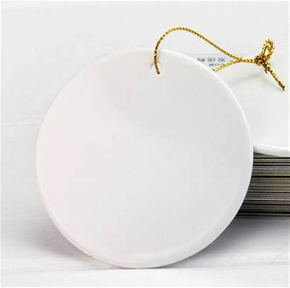 Blank Ornaments Ceramic Sublimation Snowflake Chrismas Ornament