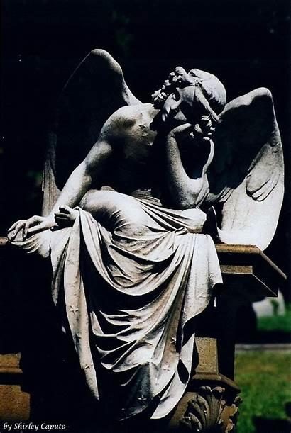 Angels Cemetery Zen Winged Angel Statuary Angelic