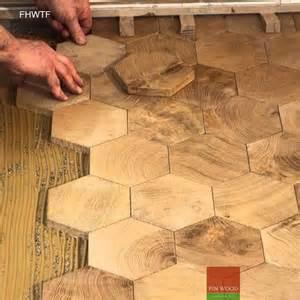 Hexagon Parquet Wood Floor