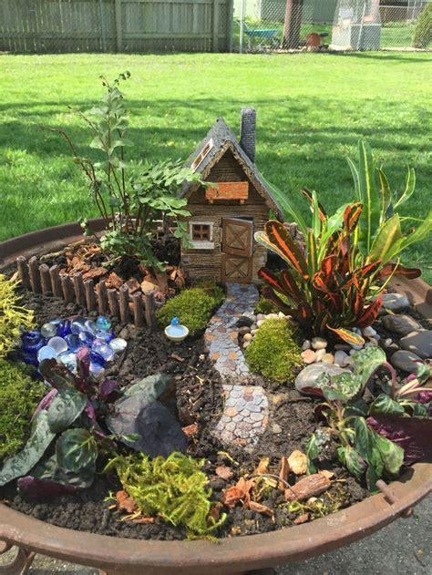 magical fairy garden ideas garden  outdoor