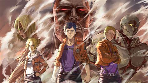 annie leonhart   hd attack  titan shingeki