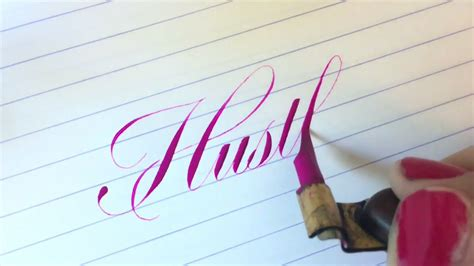 pointed  calligraphy compilation  sarah script youtube