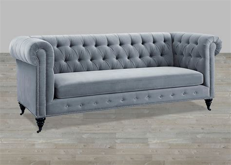 grey tufted sectional sofa grey velvet sofa button tufted