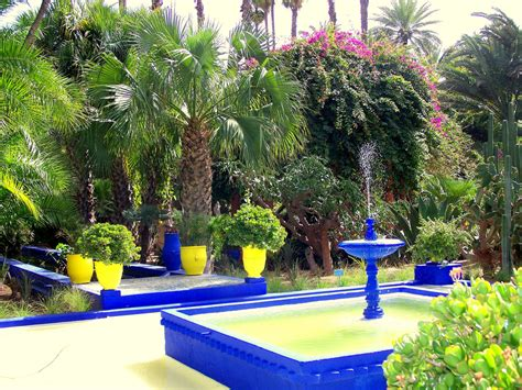 Garden Design Ideas From Jardin Majorelle, Yves Saint