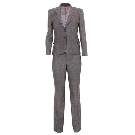 buy austin reed signature grayblue check ladies pant suit