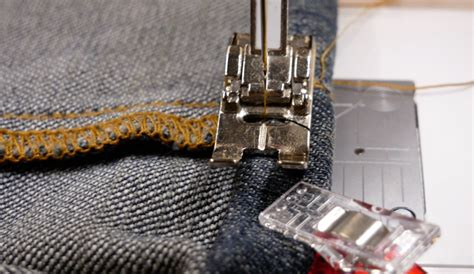 Maura Kang The Easiest Way To Hem A Pair Of Jeans