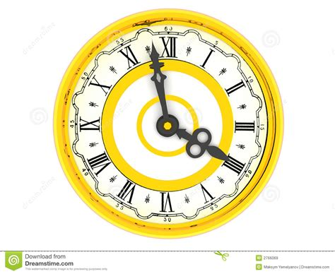 Clock Four Clock Four O Clock Royalty Free Stock Images Image 2766069
