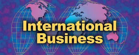 International Business Types Of International Business Transactions