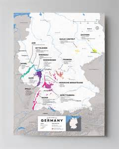 German Wine Region Map