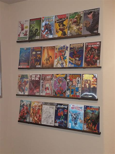 comic book shelves incredible 52 best storage display